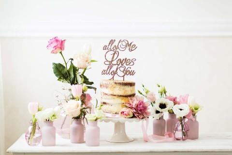 Liebliche Hochzeits-Romantik zum Träumen