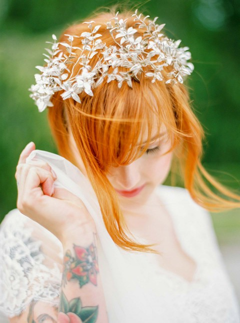 Angekommen im Heute: Moderne Braut-Inspiration
