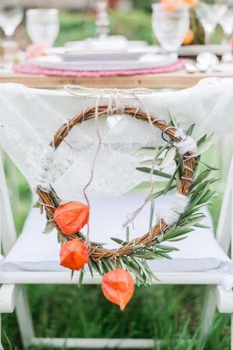 Green Wedding-Inspiration zu Dritt