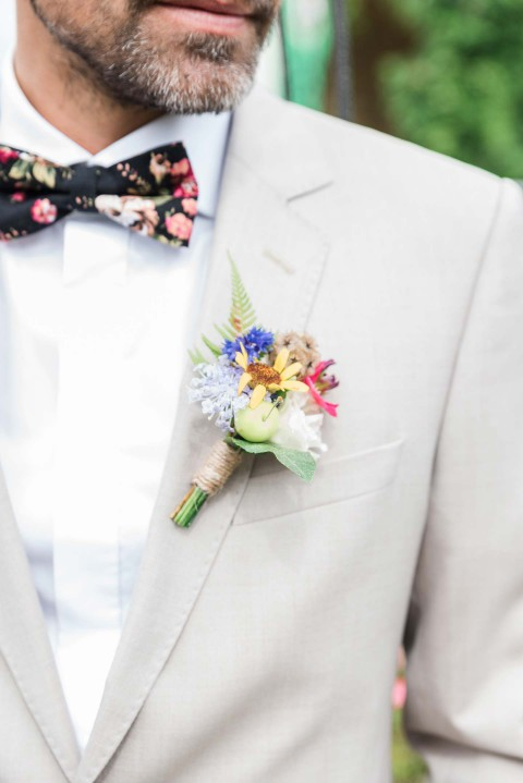 Green Wedding-Inspiration zu Dritt