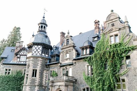 Verträumtes Boho-Märchen im Schloss