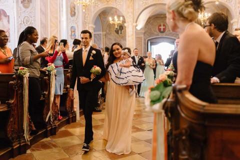 Aisha & Rafael: Märchenhochzeit mit einem Hauch Vintage
