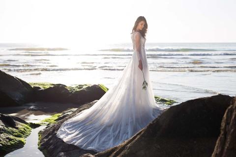 Brautkleider von Laure de Lis – Harmonie der Gegensätze