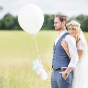 Stefanie & Jonas: Boho-Hochzeit im Schlossgarten