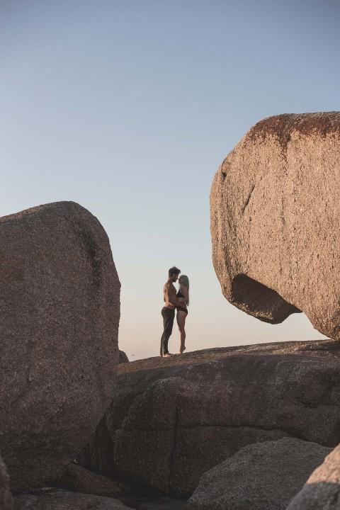 Die wahre Liebe im Gepäck … Engagement-Shooting in Afrika