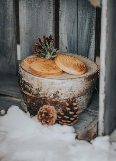 Wooden Wedding – Winterhochzeitsidee im Wald