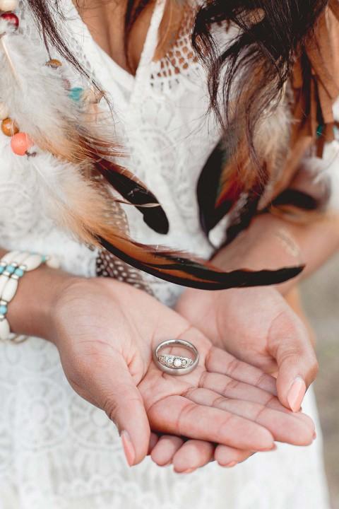 Indian Summer-Hochzeitsidee in der Steppe der Liebe