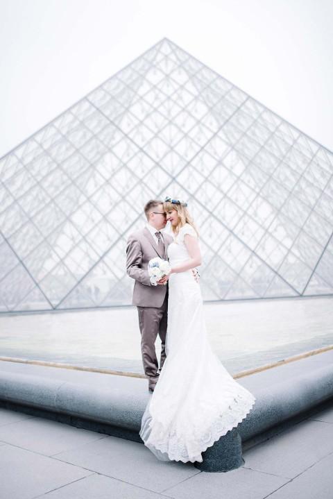 Elisabeth & Marcel: After Wedding-Amour in Paris