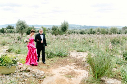 Christin und Michael: Natural Copper Glamour auf Mallorca
