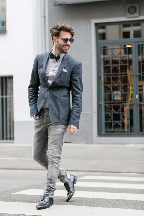 Der Modebewusste Gentlemen
