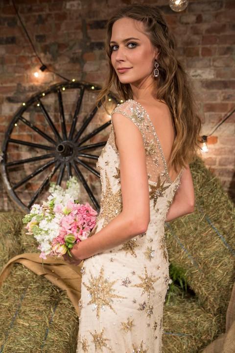 Aufregender Glamour-Boho-Chic: Jenny Packham 2017