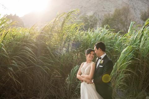Karina & Miguel: Goldene Landhochzeit im Spätsommer