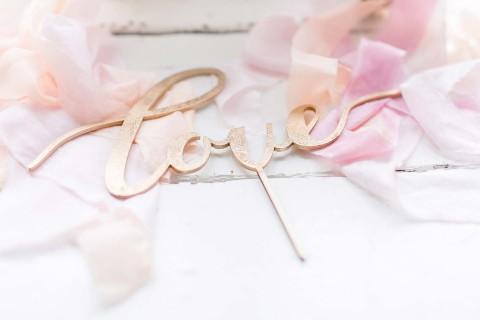 Ein Hochzeitstraum aus Rosa & Gold