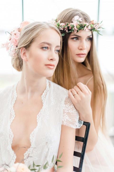 Hommage an die Liebe: die Hochzeitsfarben Rosenquarz und Roségold