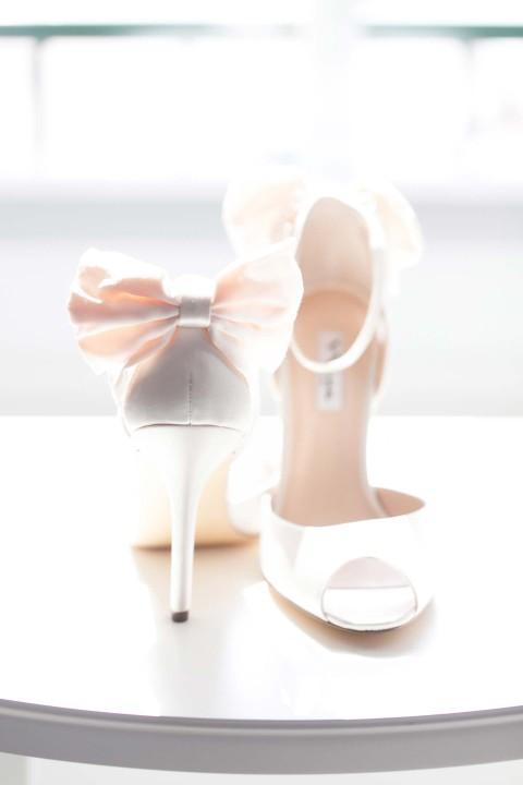 Boudoir-Romantik am Hochzeitsmorgen
