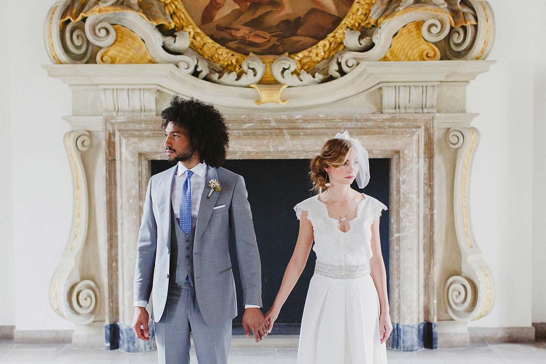 Glanzmomente in Gold und Marmor - Hochzeitswahn - Sei inspiriert!