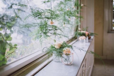 Glamouröse Boho-Braut in Kupfer & Grün