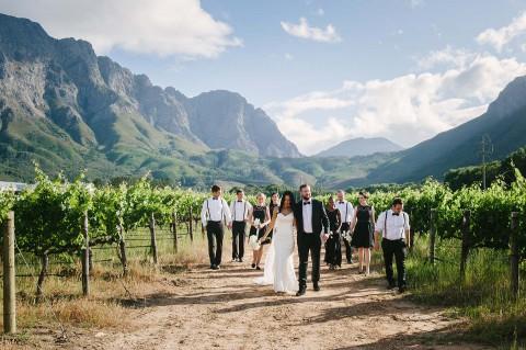 Sina & Martin: Internationale Hochzeit in Südafrika