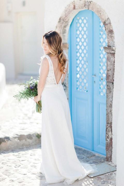 Nymphenzauber: Griechischer Inseltraum aus zarten Stoffen