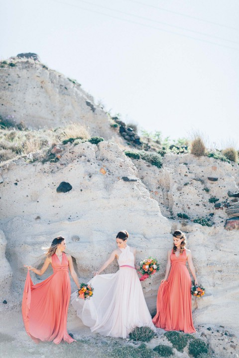 Bridalshower & Rock'n Roll auf Santorin