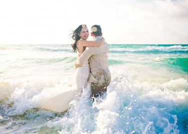 Natalia und Fabian: Internationale Traumhochzeit in der Karibik