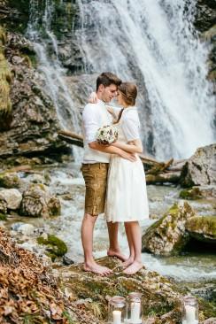 Frühherbstliche Liebe in der Bergwelt