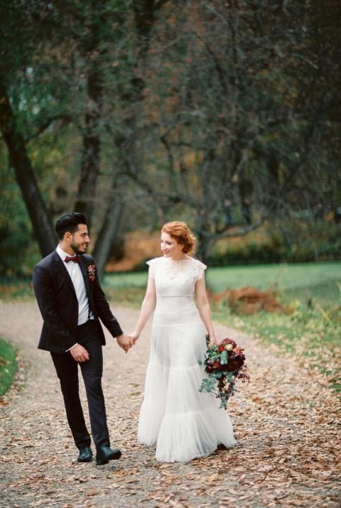 Vivien & Samet: Farbenprächtige Multi-Kulti-Hochzeit