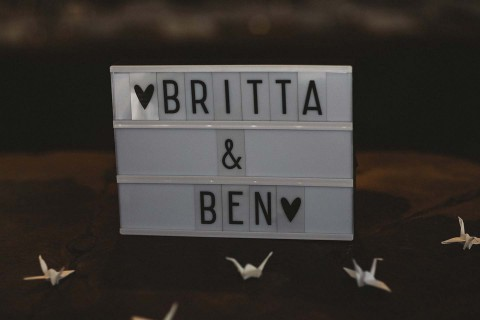 Britta & Ben: Dinner, Drinks & Dancing