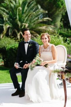 Marisa & Thomas: Traumhochzeit an der Côte d'Azur