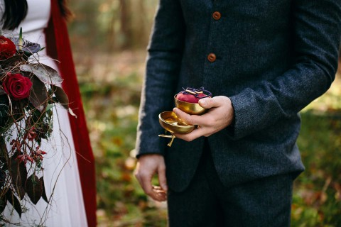 Schneewittchen, eine märchenhafte Hochzeitsinspiration