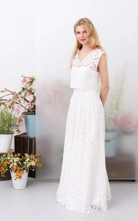 Die neuen Brautkleider 2017 von kisui - Hochzeitswahn - Sei inspiriert!