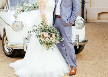 Katharina & Andreas: standesamtliche Vintage-Hochzeit