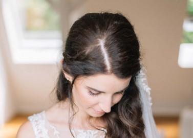 Jasmin & Christoph: Moderne Hochzeit in Pastell