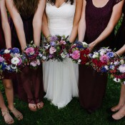 Nadine & Fabian's DIY-Bohemian-Hochzeit