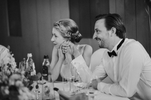 Melanie & Martin: Holländisches Hochzeitsfest im Grünen