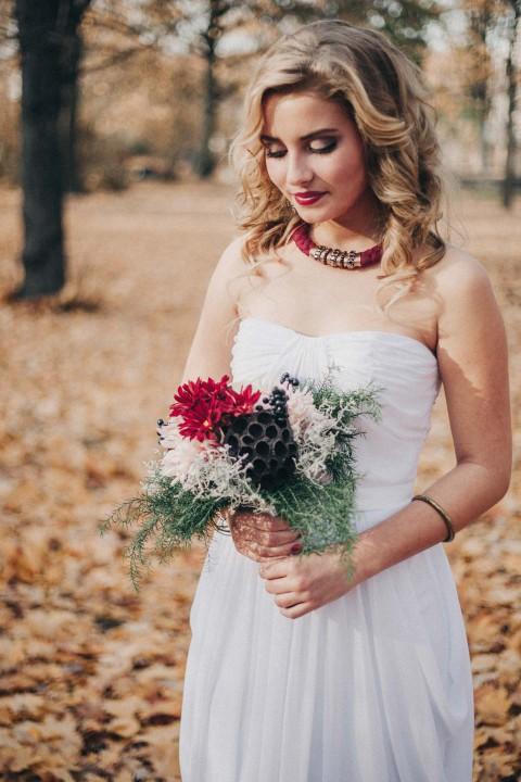 Hochzeitsinspiration: Impulsive Herbstliaison