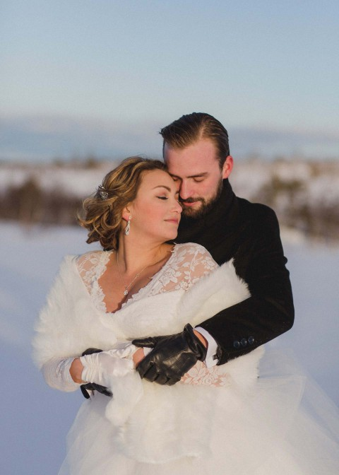 Erica & Jacob: Schwedisches Winterwonderland