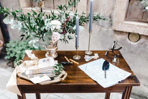 Hochzeitsinspiration: Der Charme des alten Venedigs