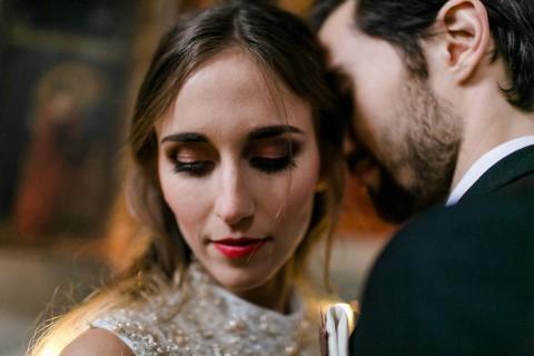 Hochzeitsinspiration: Purpur-Magie im Herbst