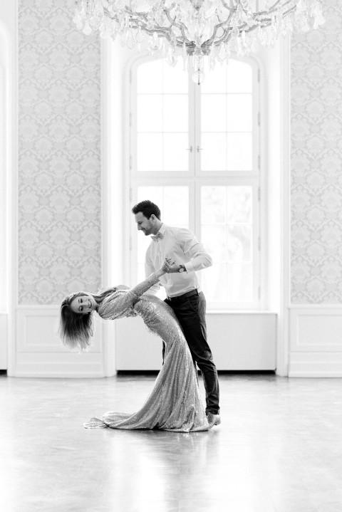 Hochzeitsinspiration: Im Goldrausch der Liebe