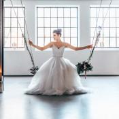 Ballerinabraut: die Liebe ist ein Tanz