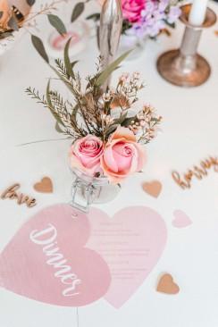 Be my Valentine! Sweet-Look für den Hochzeitstag