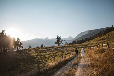 Meta & Albert's slowenische Berghochzeit