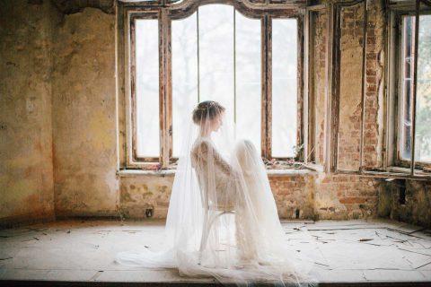 Hochzeitsinspiration: Nostalgische Liebschaft