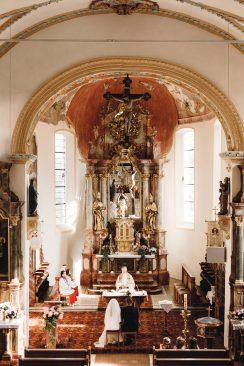 Dorfgasthof Hirsch: Retro-Hochzeit mit Liebe zum Detail