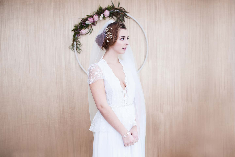 Florale Preziosen: die Haarschmuck-Kollektion 2017 von Klamitka
