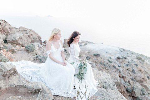 Küstenromantik auf Santorini