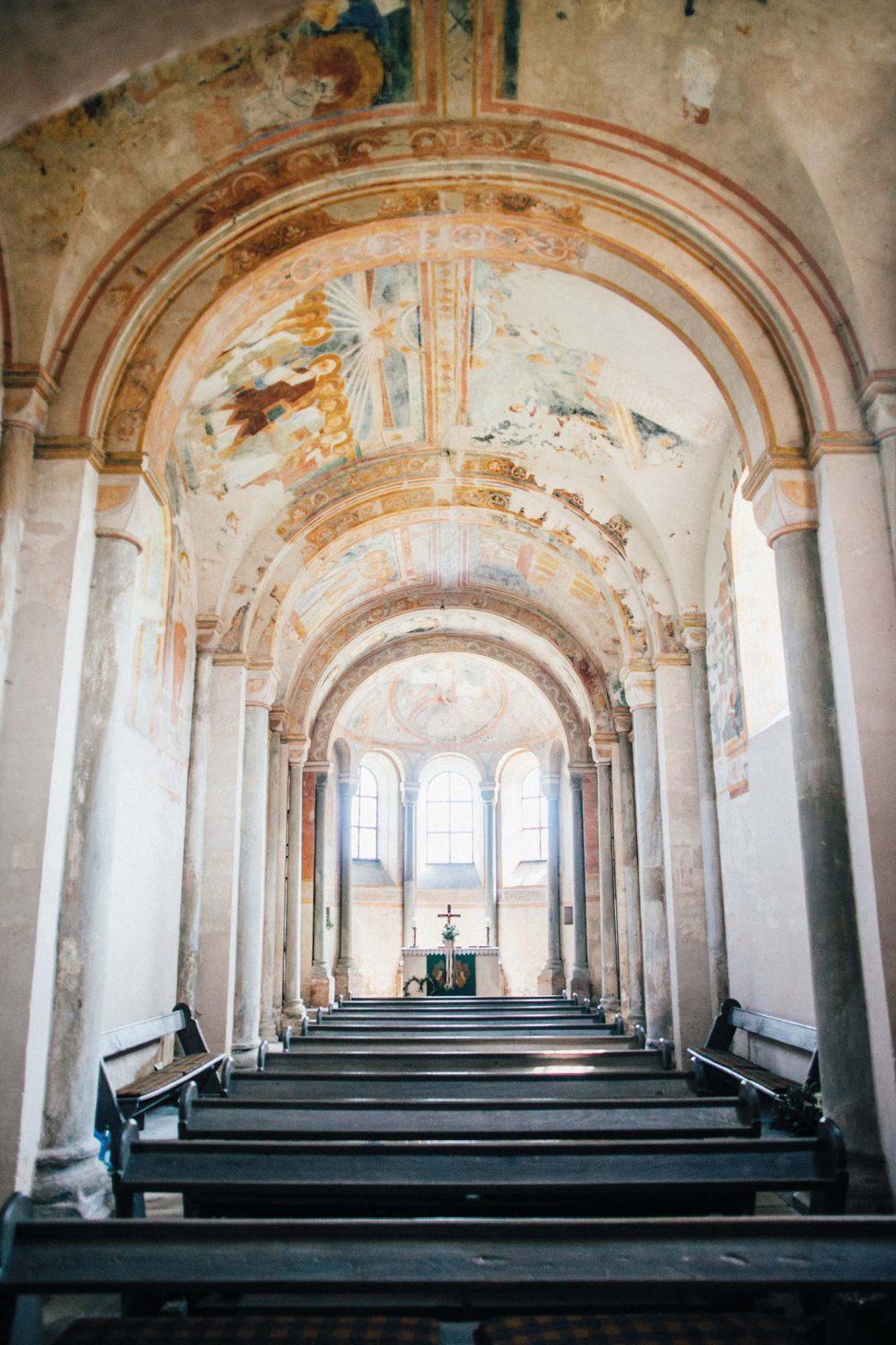 Südländische Basilika-Magie