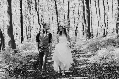 Daniela & Matthias: Boho-Chic Wiesenhochzeit