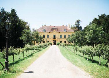 Schloss Eckartsau: Romantische Märchenhochzeit